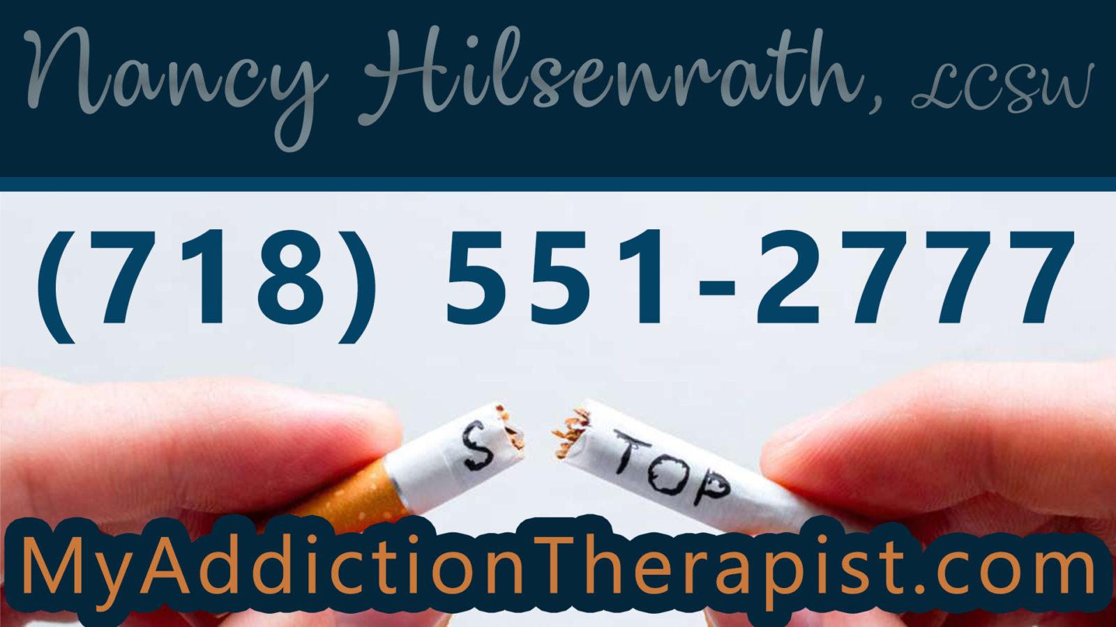 nicotine addiction therapy NY