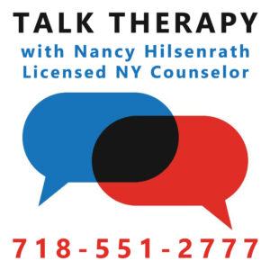 talk therapy for anxiety disorders with Nancy Hilsenrath LCSW